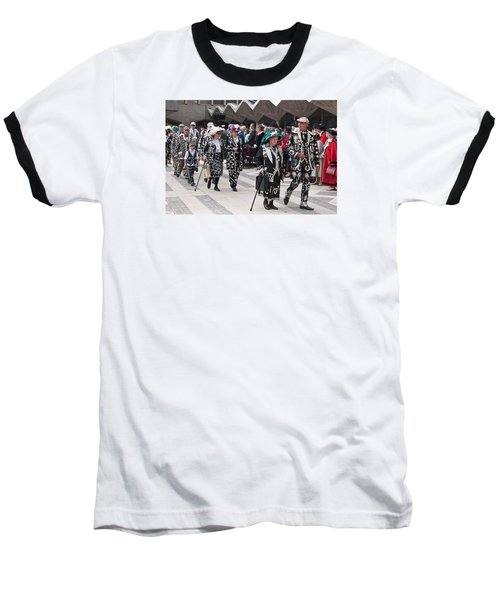 Pearly Kings And Queens Parade. Baseball T-Shirt