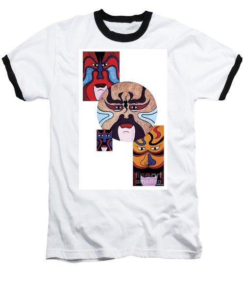 Pekingopera No.2 Baseball T-Shirt