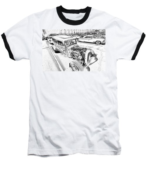 Pencil Rod Baseball T-Shirt