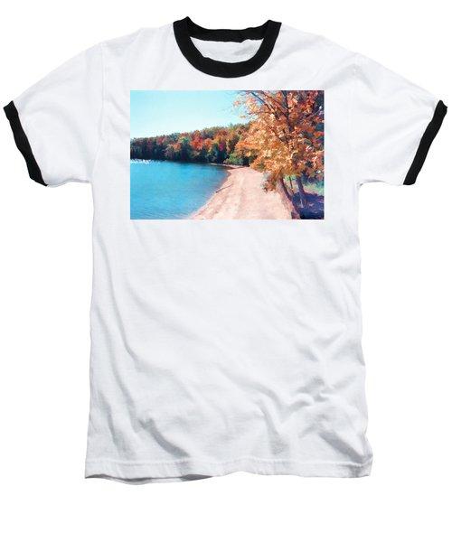 Pennsylvania Autumn 001 Baseball T-Shirt