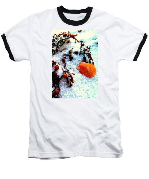 Pensacola Beach Sand Baseball T-Shirt by Faith Williams