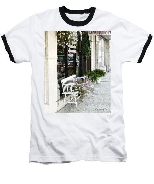 Pentunia Bench Baseball T-Shirt