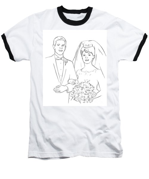 Perfect Wedding Baseball T-Shirt