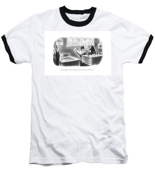 Personally, I Think Eddie's Got Something On Old Baseball T-Shirt
