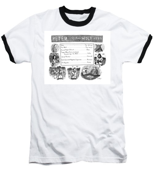 Peter And The Wolf Baseball T-Shirt