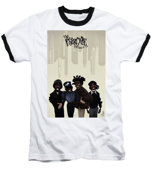 Pharcyde -passing Me By 1 Baseball T-Shirt by Nelson dedos Garcia