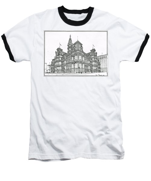 Philadelphia City Hall 1911 Baseball T-Shirt