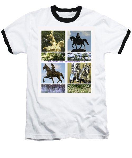 Philadelphia Museum Of Art Baseball T-Shirt