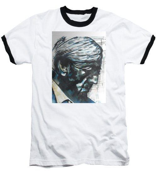 Philospher Jiddu Krishnamurti Baseball T-Shirt by Chrisann Ellis