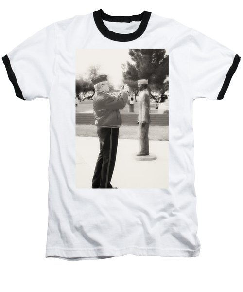 Photographing Ira Hayes Baseball T-Shirt