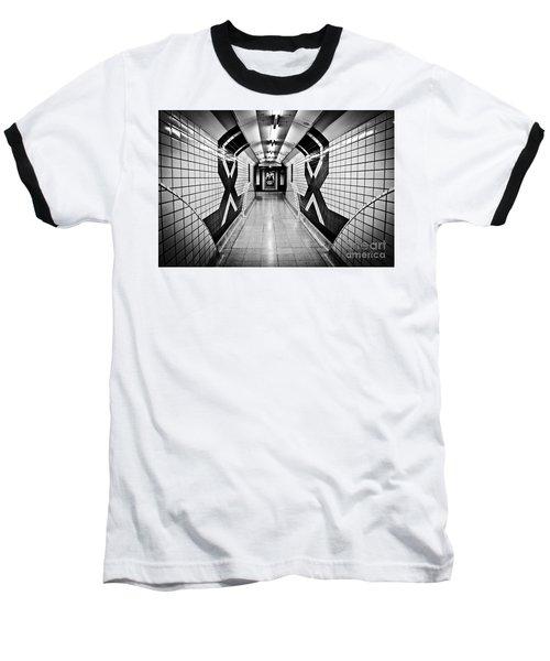 Piccadilly Circus Subway Baseball T-Shirt