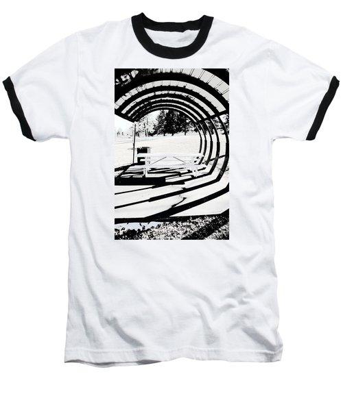 Picnic Table And Gazebo Baseball T-Shirt