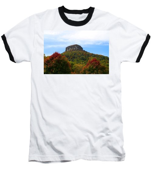 Pilot Mountain From 52 Baseball T-Shirt