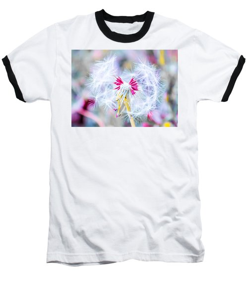 Magic In Pink Baseball T-Shirt by Parker Cunningham