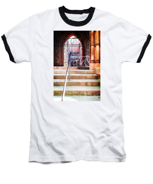 Pink Goes To Church Baseball T-Shirt