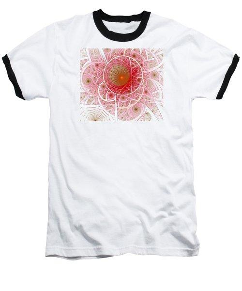 Pink Punk Baseball T-Shirt by Shari Nees