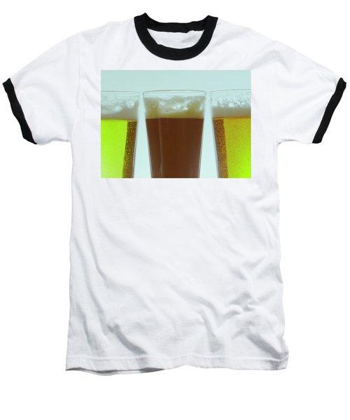 Pints Of Beer Baseball T-Shirt