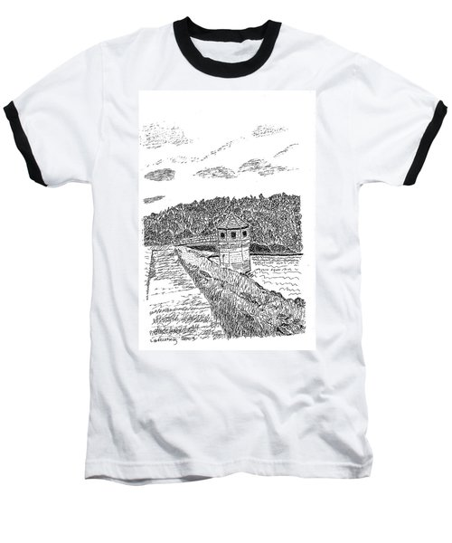 Pittsburg Dam Baseball T-Shirt