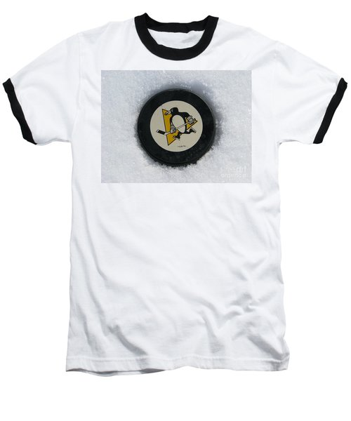 Pittsburgh Penguins Baseball T-Shirt