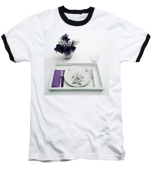 Place Setting With With Flowers Baseball T-Shirt
