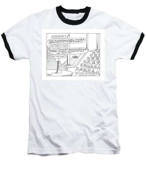 Plato The Standup Baseball T-Shirt