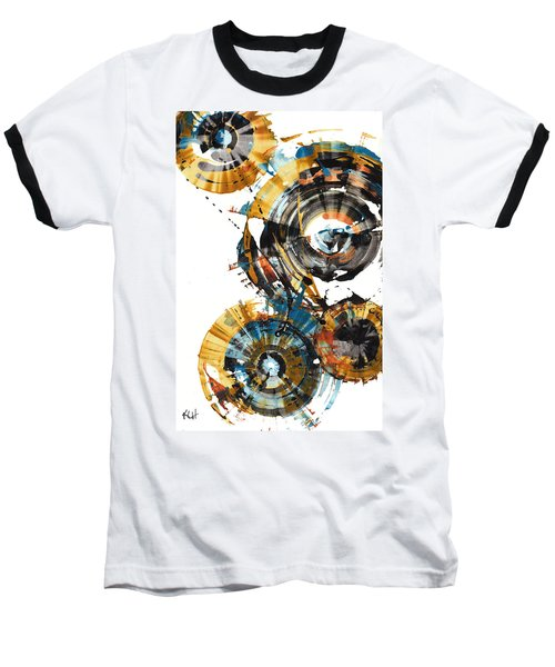 Baseball T-Shirt featuring the painting Playing In The Wind 1000.042312 by Kris Haas