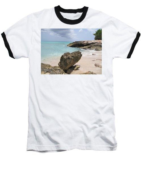Plum Bay - St. Martin Baseball T-Shirt