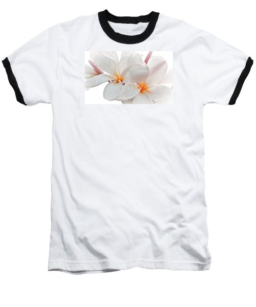 Baseball T-Shirt featuring the photograph Plumeria by Roselynne Broussard