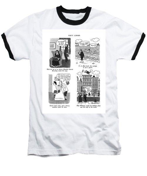 Poets' Corner Baseball T-Shirt