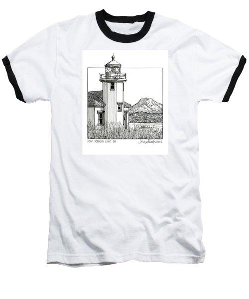 Point Robinson Light Baseball T-Shirt