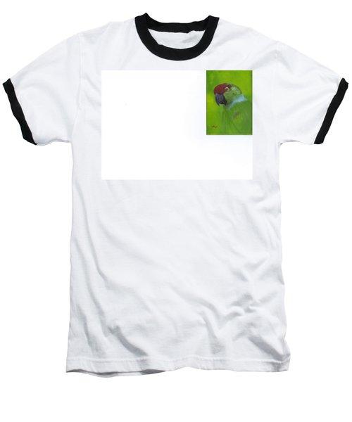 Polly Baseball T-Shirt by Catherine Swerediuk