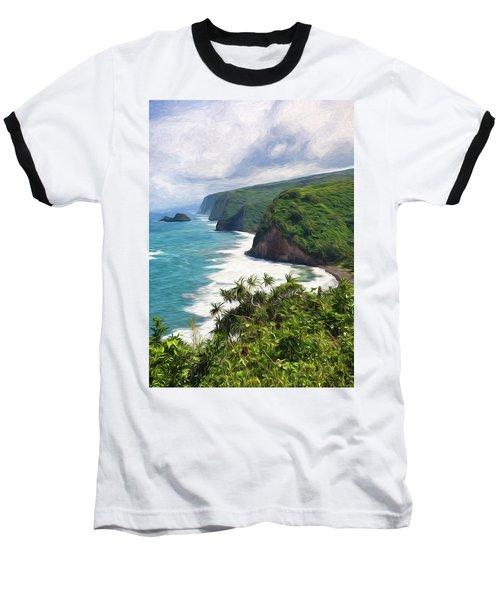 Pololu Valley Beach Baseball T-Shirt