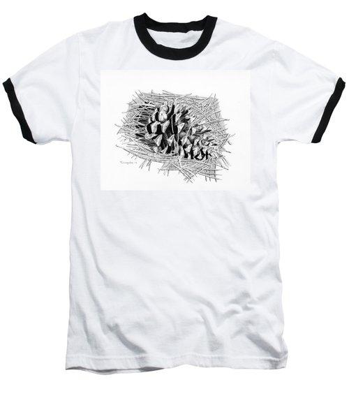 Ponderosa Pine Cone Baseball T-Shirt