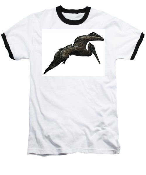 Pop Art - Pelican Selection Baseball T-Shirt