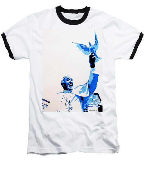 Pope Francis Baseball T-Shirt