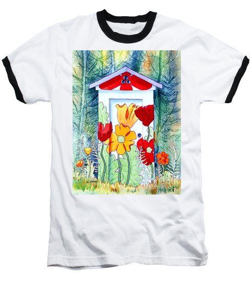 Poppy Potty Baseball T-Shirt