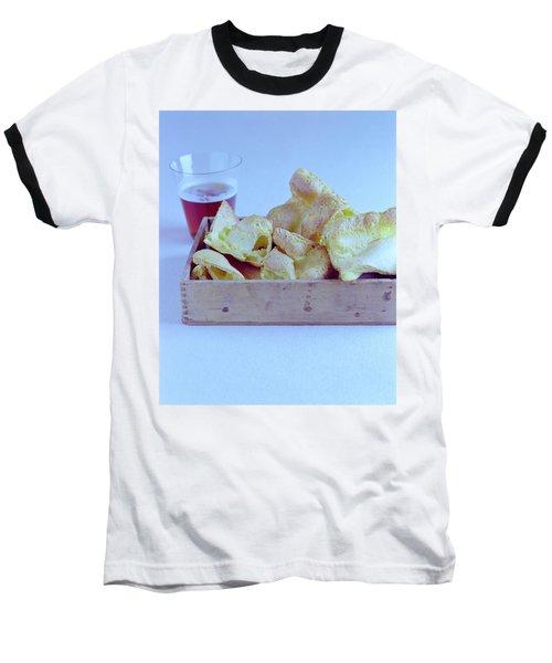Pork Rinds With A Pint Baseball T-Shirt