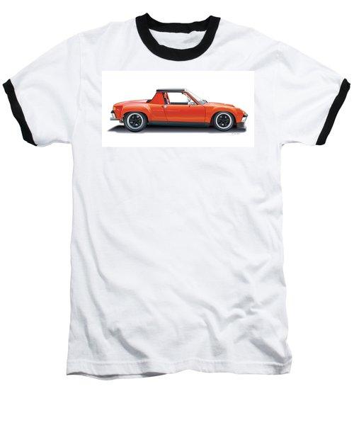 Porsche 914-6 Gt Baseball T-Shirt by Alain Jamar