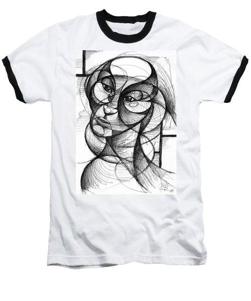 Portrait Baseball T-Shirt