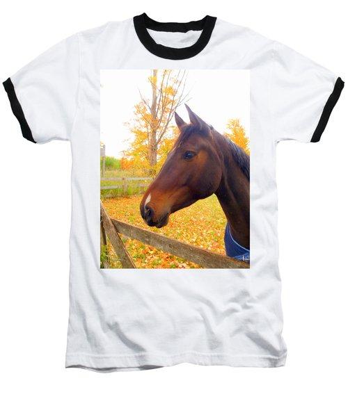 Portrait Of A Beauty Baseball T-Shirt