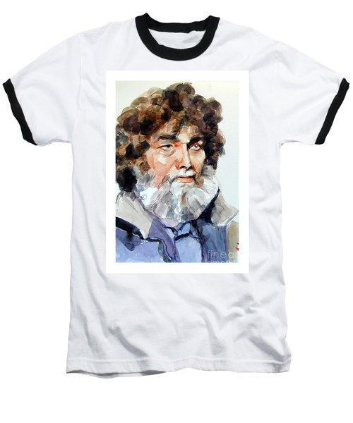 Watercolor Portrait Of A Sailor Baseball T-Shirt