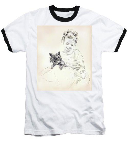 Portrait Of Sylwia Baseball T-Shirt