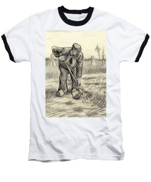Potato Gatherer Baseball T-Shirt