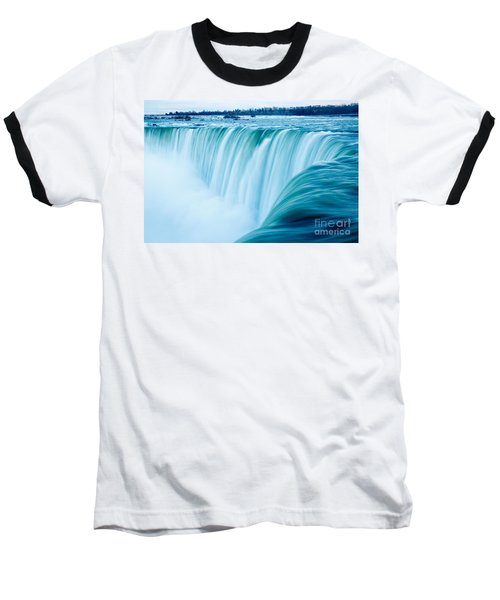 Power Of Niagara Falls Baseball T-Shirt