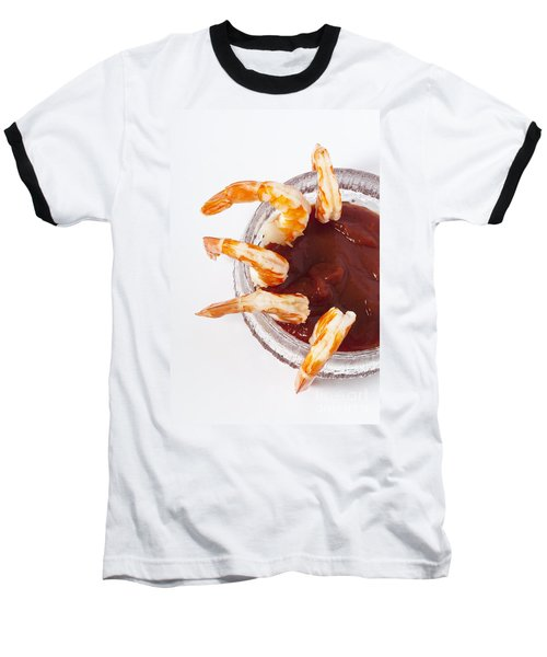 Prawn Cocktail Baseball T-Shirt