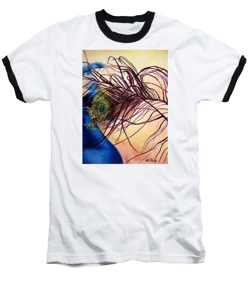Preening For Attention Sold Baseball T-Shirt by Lil Taylor