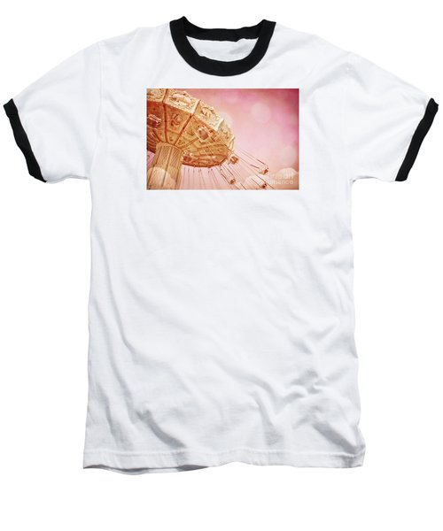 Carnival - Pretty In Pink Baseball T-Shirt by Colleen Kammerer