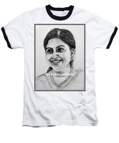 Pretty Smile Baseball T-Shirt