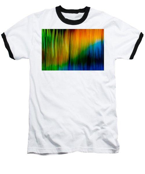 Primary Rainbow Baseball T-Shirt