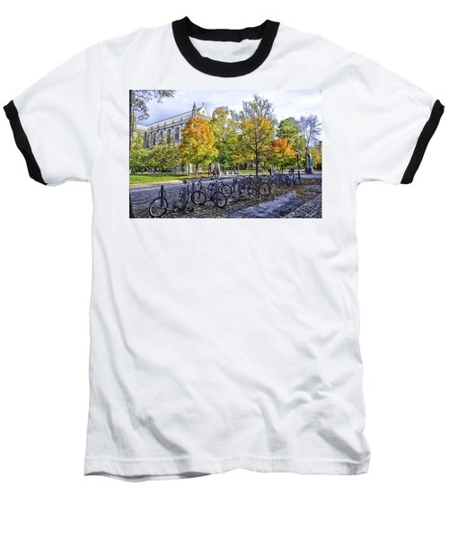 Princeton University Campus Baseball T-Shirt by Madeline Ellis